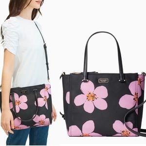 Coming soon! Kate Spade floral cross body bag